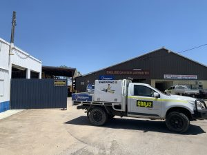 callide dawson automatics car carrying 1 maintenance supply and enerpac