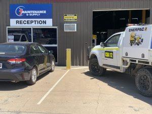 1 maintenance & supply reception area