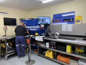 inside the calibration room of 1 maintenance & supply