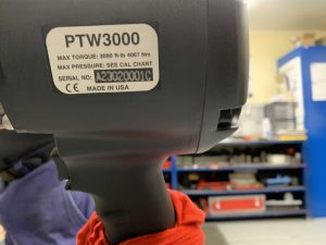 ptw3000 max torque 3000 ft-lb 4067 nm made in usa