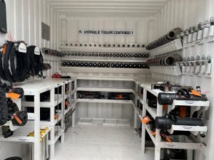 hydraulic tooling container 1