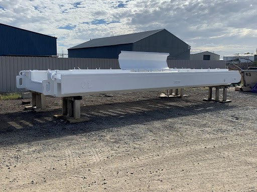 highwall mining launch vehicle